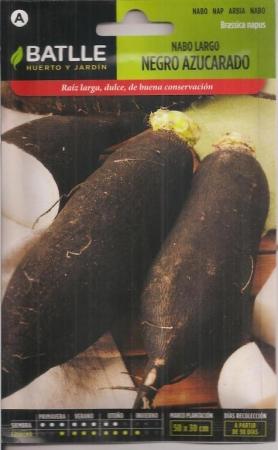 NABO LARGO NEGRO AZUCARADO (15 gr.)