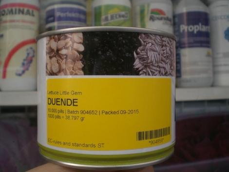 LECHUGA DUENDE Pildorada (10.000 Semillas).