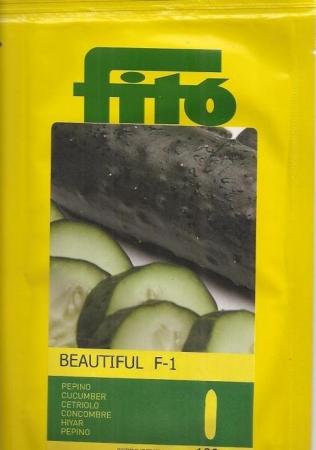 PEPINO BEAUTIFUL F1 (1000 Semillas)