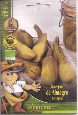 BERENJENA DE ALMAGRO ECOLÓGICA (1 gr.).