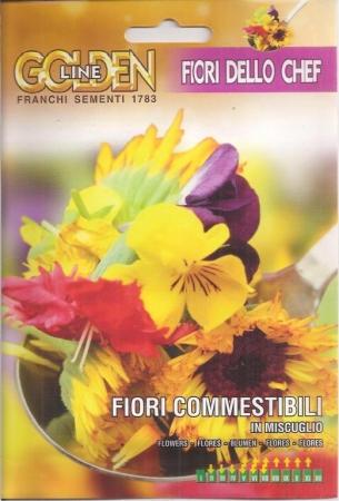 FLORES COMESTIBLES EN MEZCLA (2 gr.).