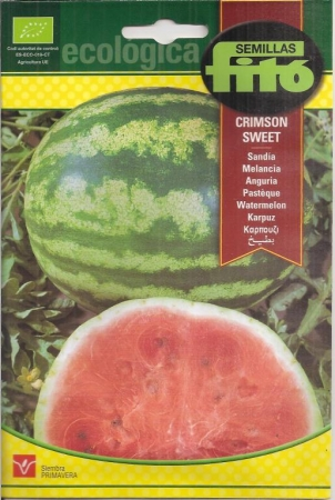 SANDIA CRIMSON SWEET ECOLOGICA (2 gr.).
