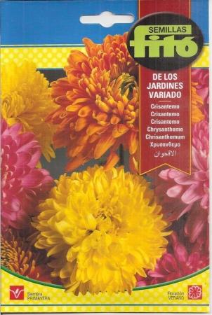 CRISANTEMO DE LOS JARDINES VARIADO (2 gr.).