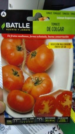 TOMATE DE COLGAR Sel. Mallorquin (2 gr.).