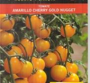 TOMATE CHERRY GOLD NUGGET (Cerca de 50 Semillas).