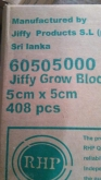 JIFFY COCO BLOCK 50