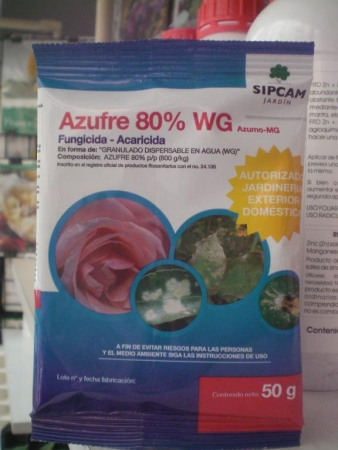 AZUMO MG - AZUFRE 80% WG (50 gr.). [JED]