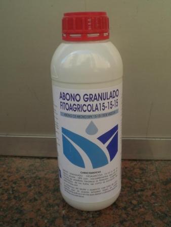 ABONO GRANULADO FITOAGRICOLA 15-15-15 (1 Kgr.)