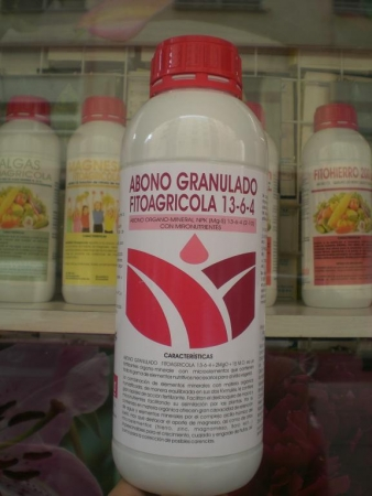 ABONO GRANULADO FITOAGRICOLA 13-6-4 (1 Kgr.)