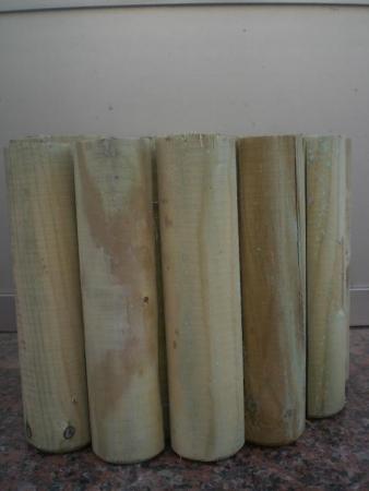 Bordes de madera jardin a20 fitoagr cola - Bordes para jardines ...