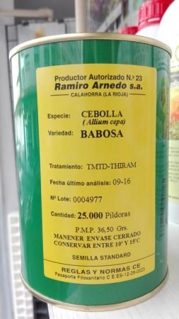 BABOSA PILDORADA
