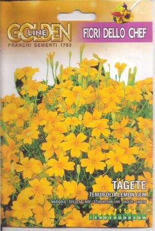 TAGETE TENUIFOLIA LEMON GEM - Comestible (2 gr.).
