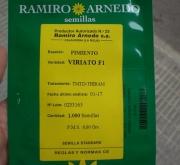 PIMIENTO VIRIATO F-1 (1.000 Semillas)