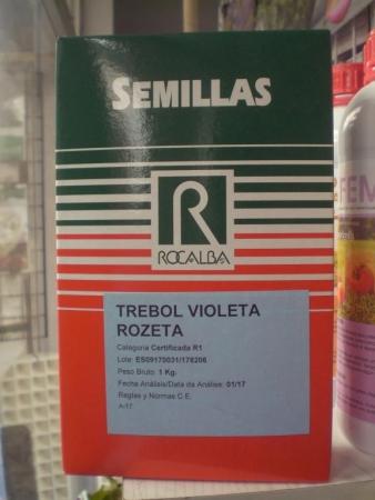 TREBOL VIOLETA ROZETA (1 Kgr.).