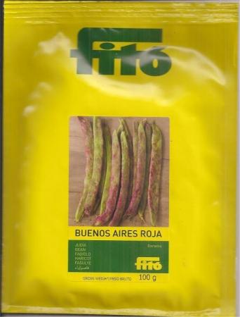 JUDIA BUENOS AIRES ROJA (100 gr.).