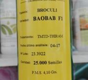 BROCOLI BAOBAB F1 (25.000 Semillas)