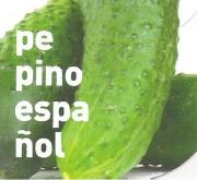 PEPINO ESPAÑOL ECOLÓGICO ME11