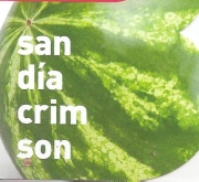 SANDÍA CRIMSON RAYADA ECOLÓGICA MSE6