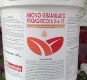 ABONO GRANULADO FITOAGRICOLA 5-6-12 (5 Kgr.)
