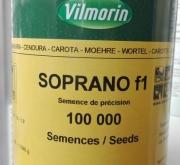 ZANAHORIA SOPRANO F1 Vilseed (100.000 Semillas)