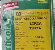 CEBOLLA LIRIA - Selección Túria (100 gr.).