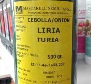 CEBOLLA LIRIA - Selección Túria (500 gr.).
