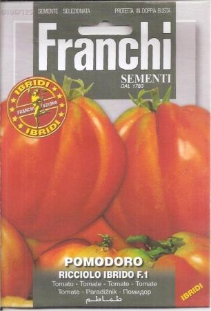 TOMATE RICCIOLO F1 (0,05 gr. - Cerca de 15 Semillas)
