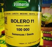 ZANAHORIA BOLERO F-1 Vilseed (100.000 Semillas)