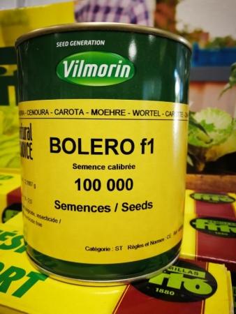 ZANAHORIA BOLERO F-1 (100.000 semillas)
