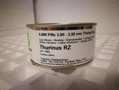LECHUGA THURINUS RZ Precisión Píldorada (5000 Semillas).