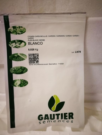 CARDO LLENO BLANCO SIN ESPINAS BLANCO  (25 gr.)