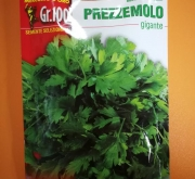 PEREJIL GIGANTE DE NAPOLES / ITALIA (100 gr.).