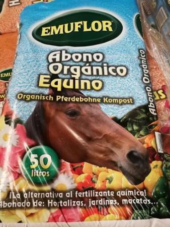 EMUFLOR - ESTIÉRCOL DE CABALLO (50 litros)