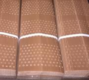 PROTECTOR DOBLE CAPA PLEGADO 50 cm. Perforado (10...