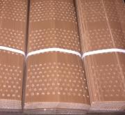 PROTECTOR DOBLE CAPA PLEGADO 60 cm. Perforado (10...