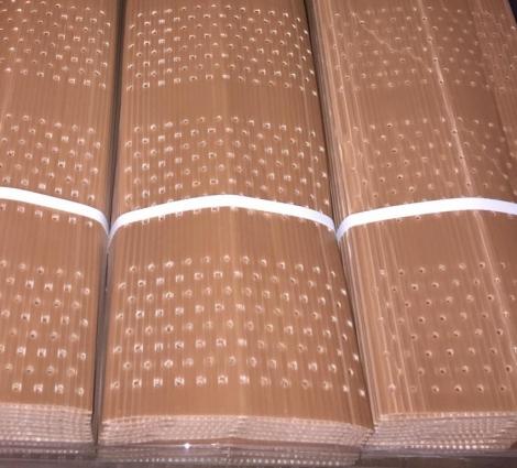 PROTECTOR DOBLE CAPA PLEGADO 60 cm. Perforado (10 unid.)