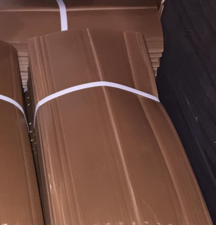 PROTECTOR DOBLE CAPA PLEGADO 70 cm. No Perforado (10 unid.)