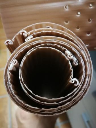 PROTECTOR MONO-CAPA ENROLLABLE TRONCO 50 cm. (10 unid.)