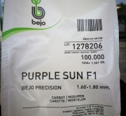 ZANAHORIA PURPLE SUN F1 Precisión (100.000...