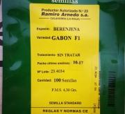 BERENJENA MULATA (Ex GABON) (100 Semillas)