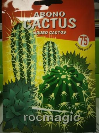 ABONO SOLUBLE CACTUS ( 75 gr.).