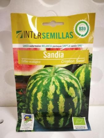 SANDIA CRIMSON SWEET ECOLÓGICA (100 gr.).