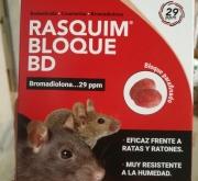 RASQUIM BLOQUE BD 29 (300 gr. - bloques de 4 gr.).
