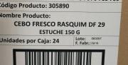 CEBO FRESCO RASQUIM DF 29 (Caja de 24 envases de...