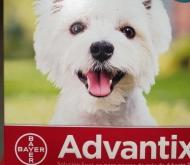 ADVANTIX ® Para perros de 4-10 Kgr. (4 Unidades).