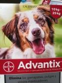 ADVANTIX ® Para perros de 10-25 Kgr. (4 Unidades).