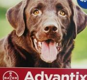 ADVANTIX ® Para perros de 25-40 Kgr. (4 Unidades).