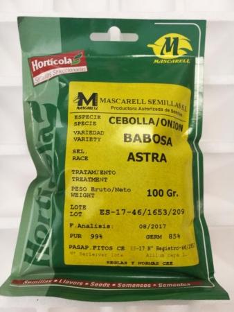 CEBOLLA BABOSA ASTRA (100 gr.).