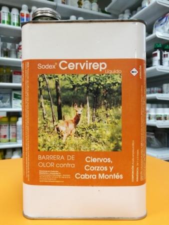 CERVIREP LIQUIDO Ciervos y Cabras Montesas (5 l.).