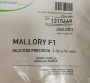 CEBOLLA MALLORY F1 Precisión (250.000 Semillas)